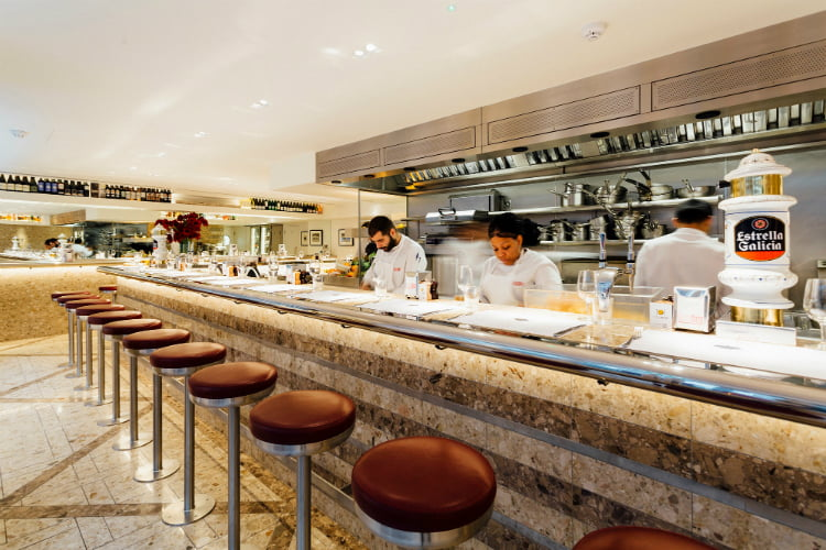 Barrafina - Michelin star restaurants London