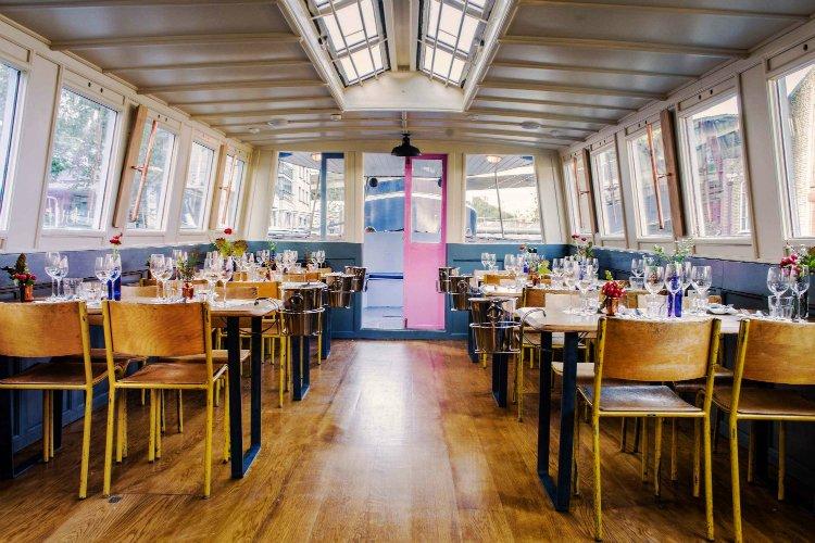 Romantic Restaurants London: London Shell Co.