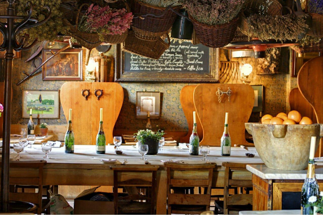 Romantic restaurants: Maggie Jones