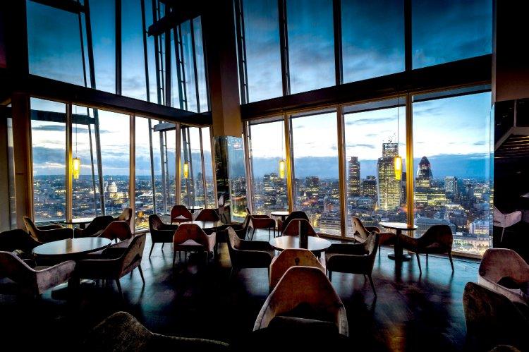 Aqua Shard - romantic restaurants in London