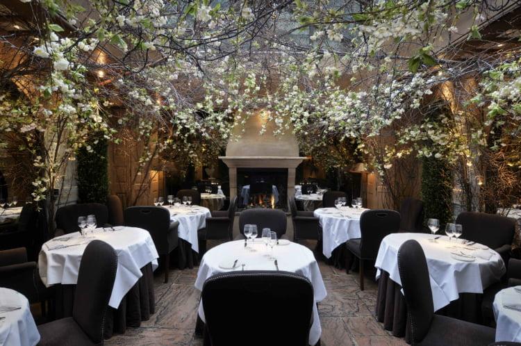 Clos Maggiore romantic restaurant - London date ideas