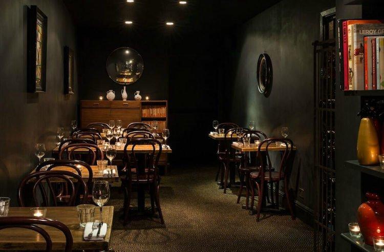 Romantic restaurants London Little Quiet