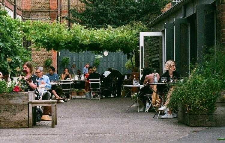 Rochelle Canteen unusual restaurants