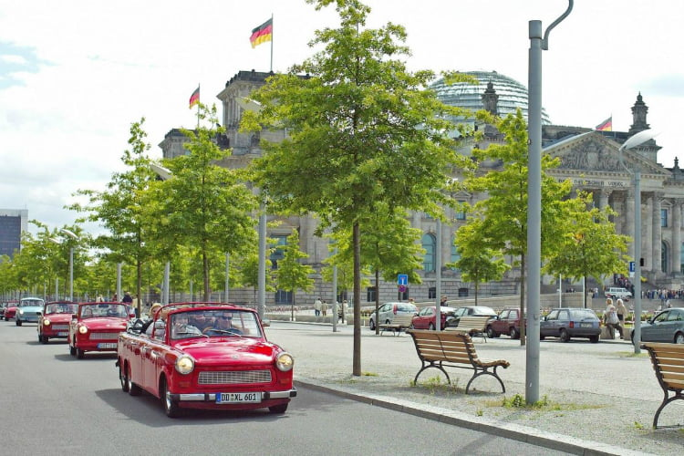 Trabi tour - things to do in Berlin