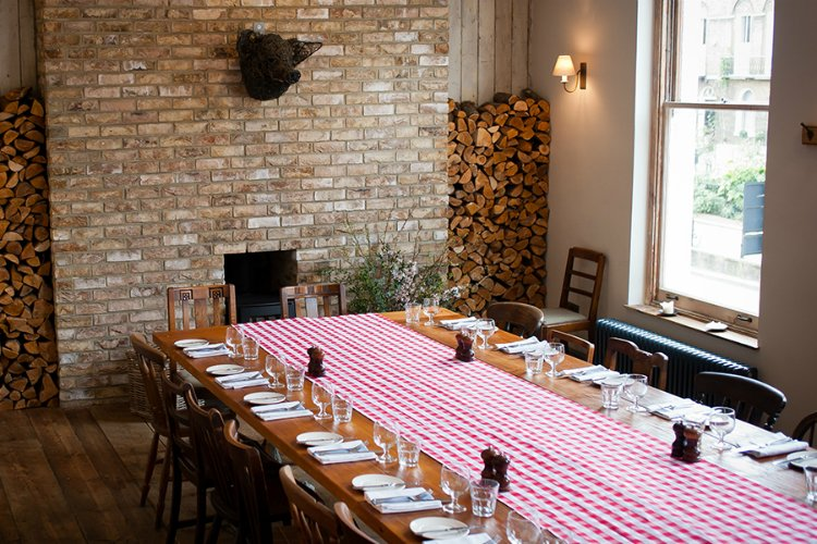 Pig and Butcher - private dining London