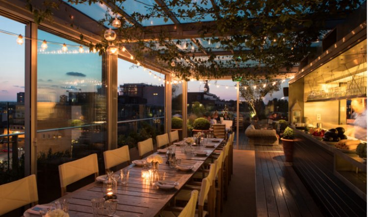 Boundary - private dining London