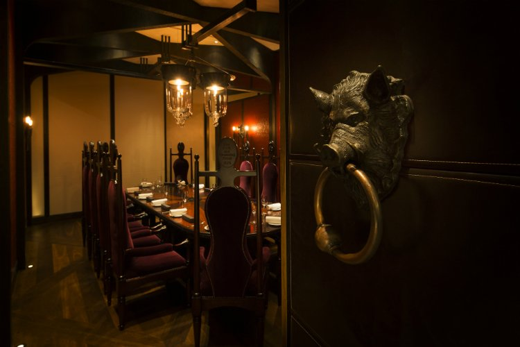 Dinner by Heston - private dining London