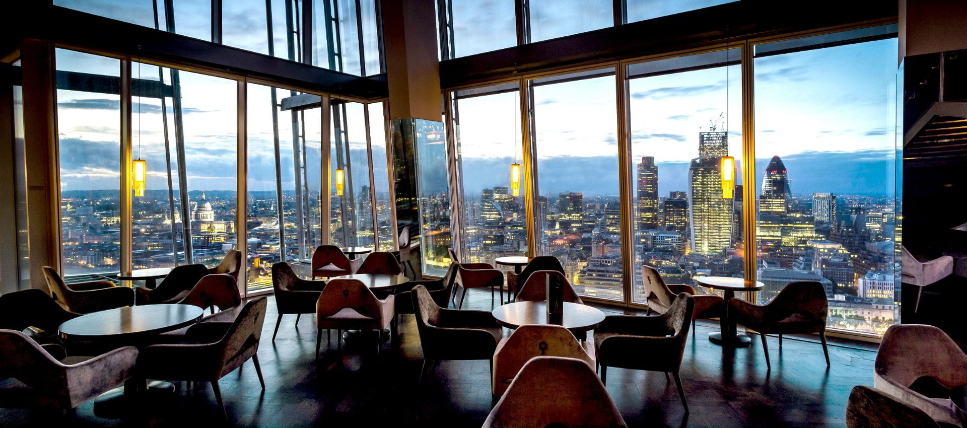 Aqua shard all day dining with frankly ridiculous views for Restaurants at the shard
