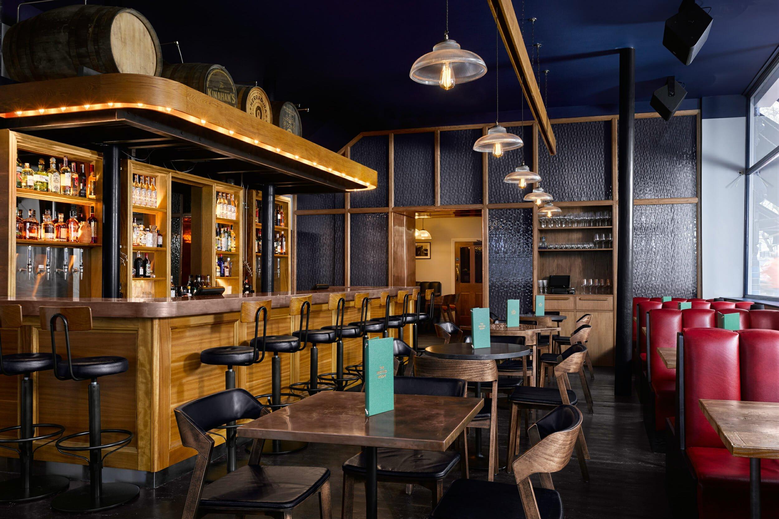 Distillery London gin bars