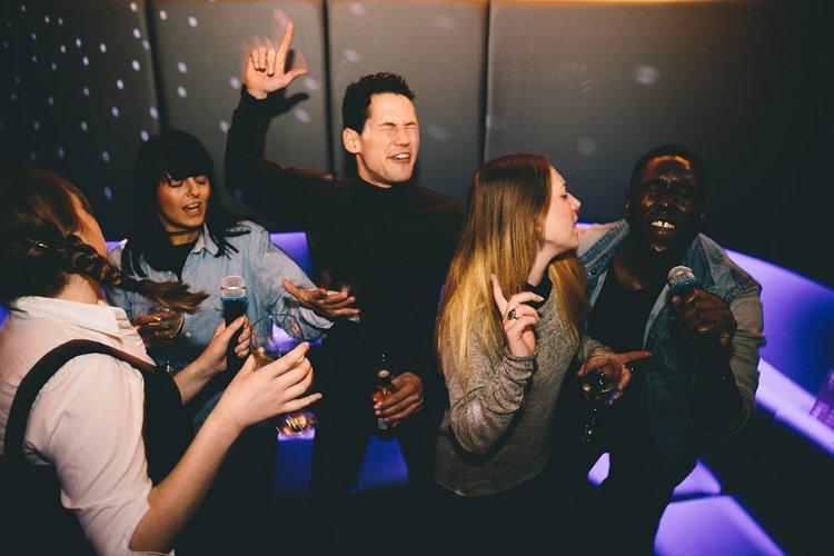 Lucky Voice - karaoke bar London