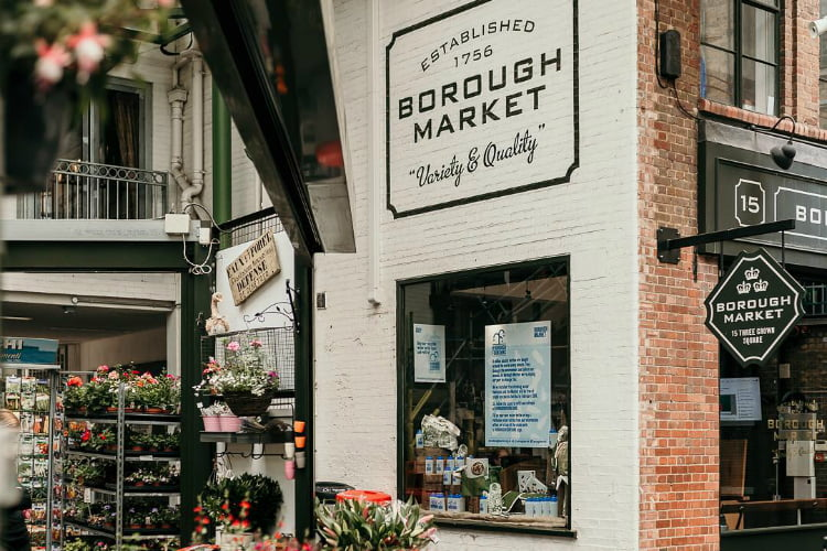 Borough market - food market London