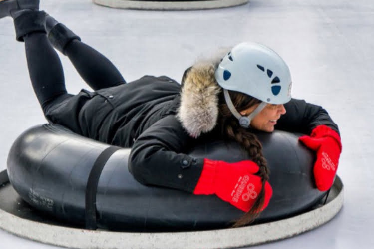 Queen's Skate Dine Bowl - office Christmas party ideas