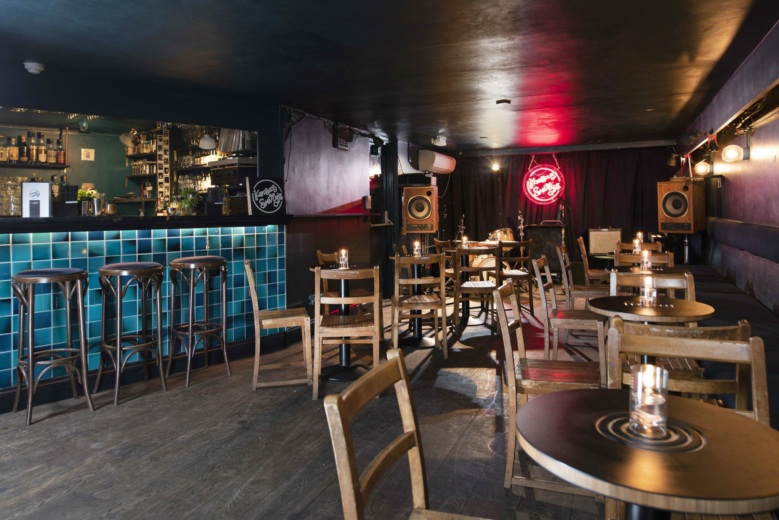 Kansas Smittys London jazz bars