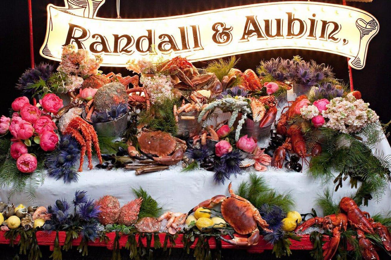 Randall and Aubin seafood restaurant