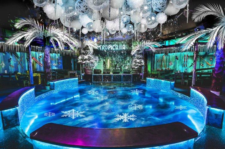 Tropicana Beach Club Big Freeze - Office Christmas Parties London