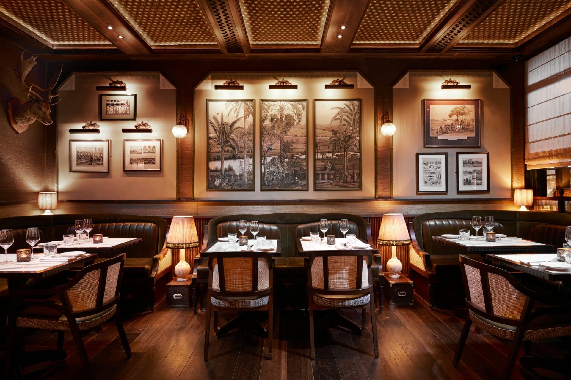 Gymkhana best Indian restaurants London