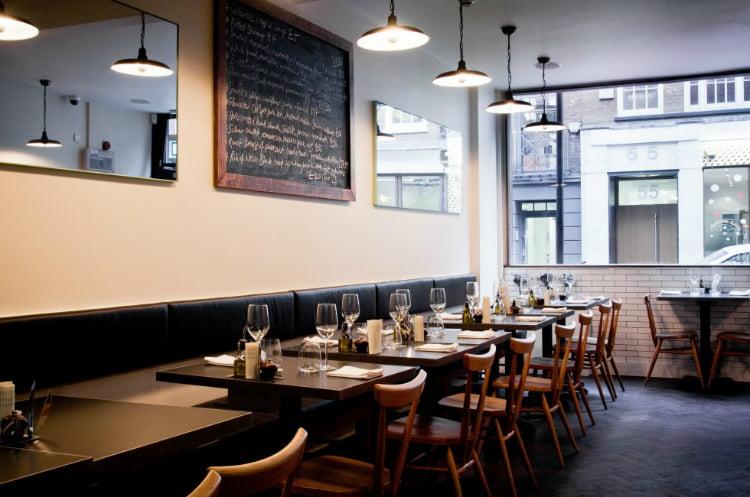 10 Greek Street - best restaurants in Soho restaurants
