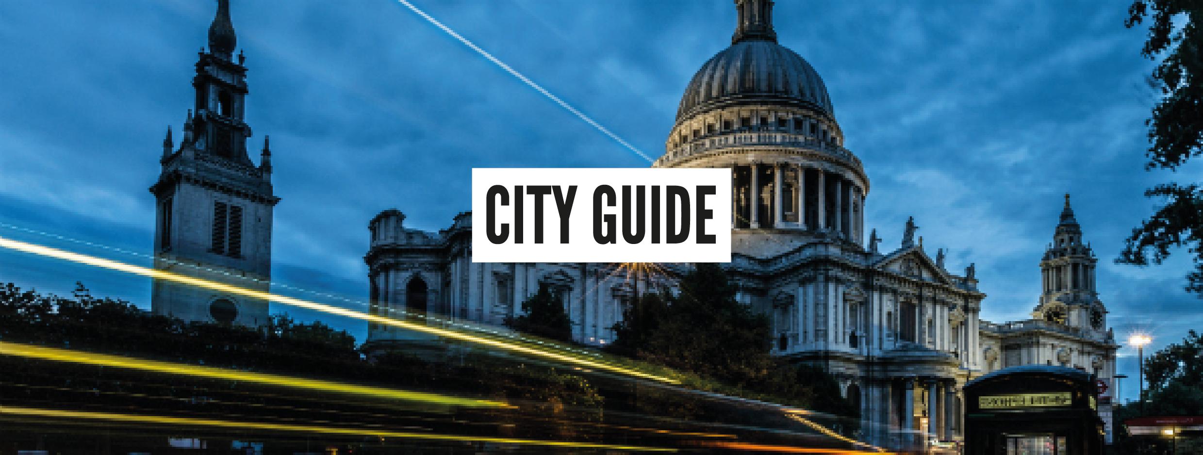 London Neighbourhood Guides - The City