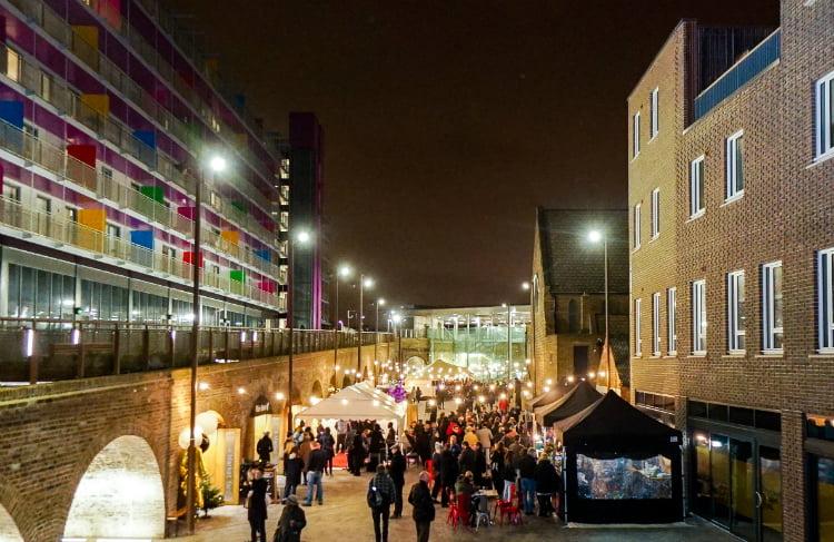 Deptford Market Yard - London christmas market