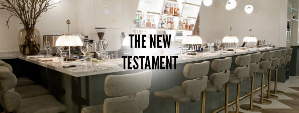 The London Restaurant Bible - The New Testament