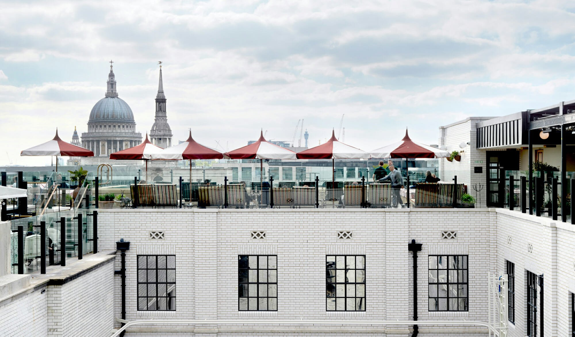 The Ned Rooftop bar