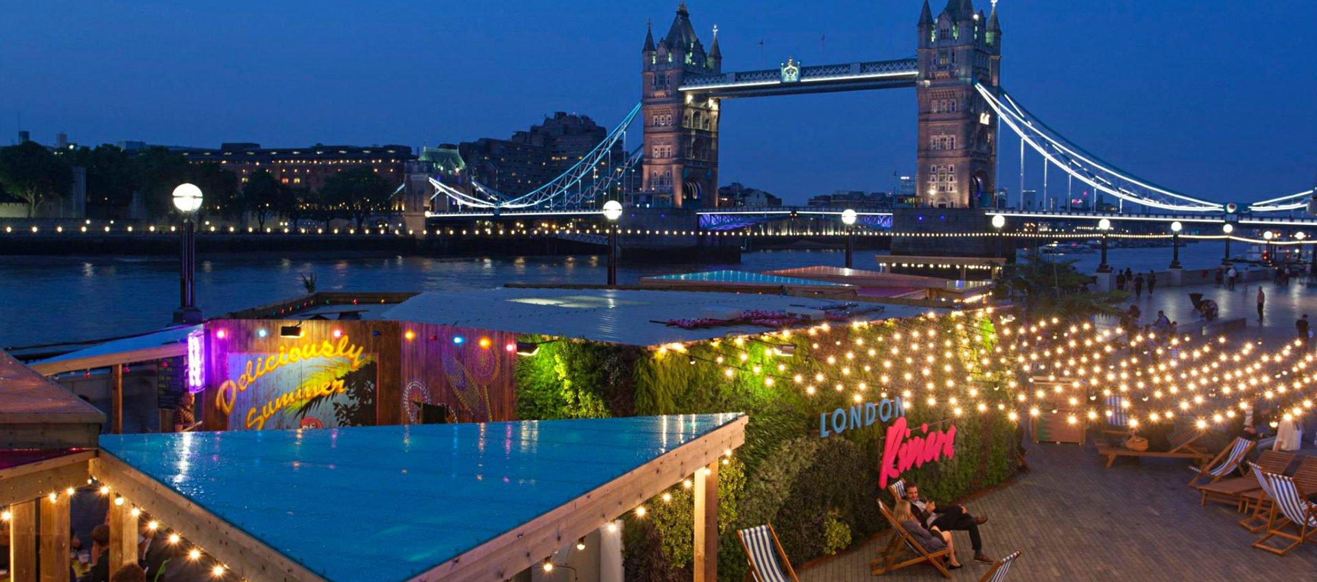Night lights queens walk london - Your June Agenda