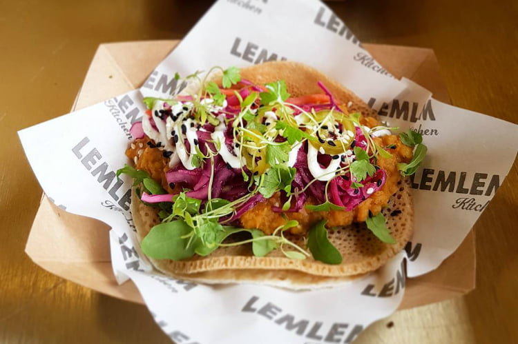 Lemlem Kitchen - best tacos in London