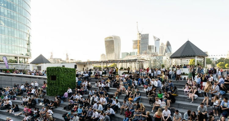 Summer by the River outdoor cinema