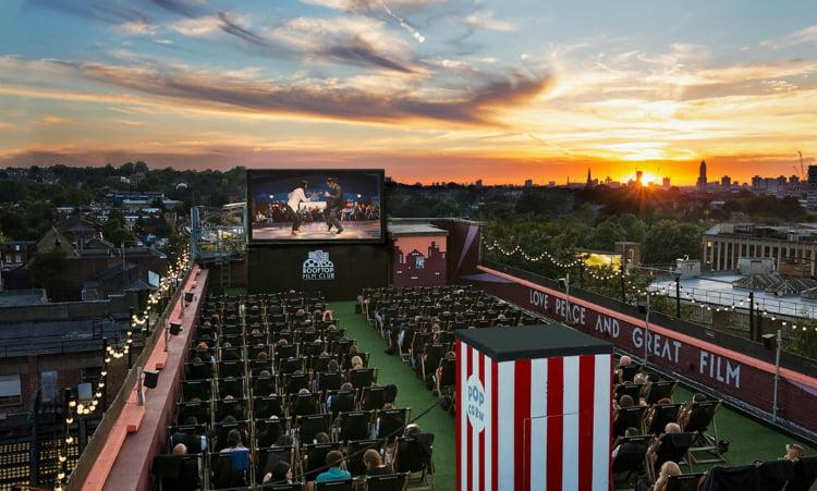 Rooftop Film Club outdoor cinema london
