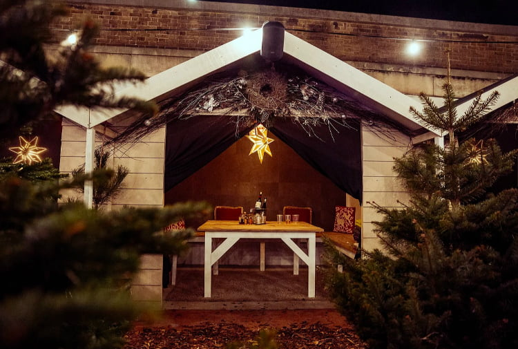 Alpine Club - best office Christmas party ideas