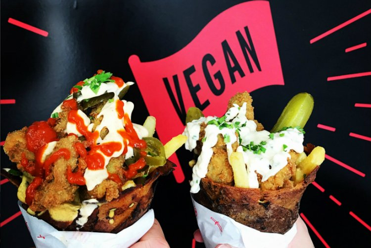 Temple of Seitan - best vegan street food London