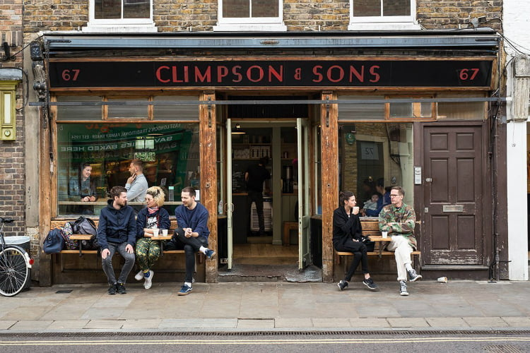Climpson and Sons best coffee shops in London