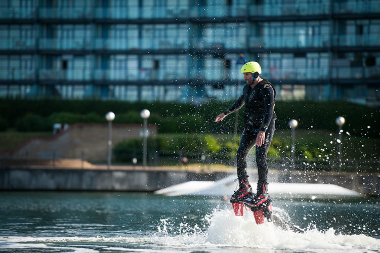 Flyboarding quirky things to do in London