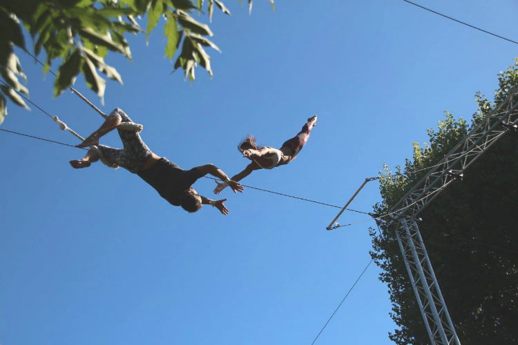 Gorilla Trapeze quirky things to do in London