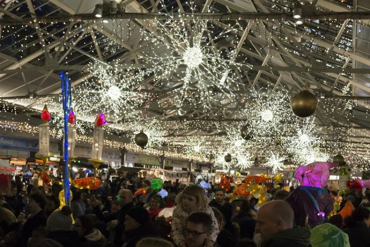 Greenwich Market Christmas Lights 2018