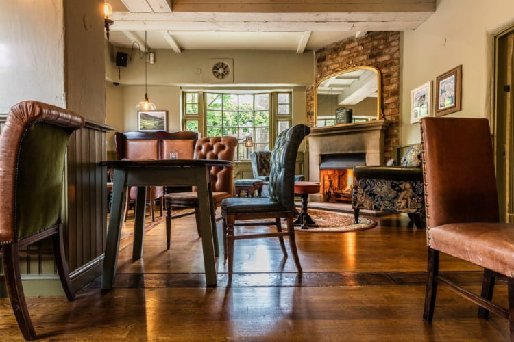 Lass O Richmond Hill - best London pubs with open fires