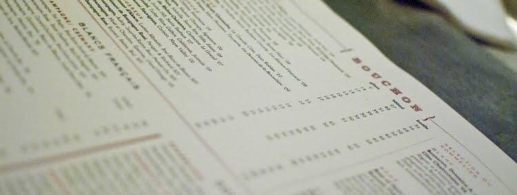 Decode any wine menu