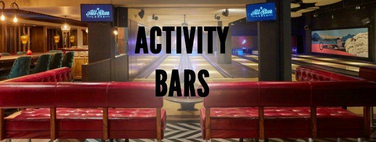 Birthday Activity Bars - London Birthday Ideas