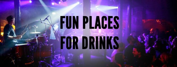 Fun Places For Birthday Drinks - London Birthday Ideas