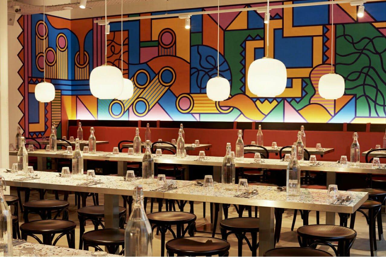 Pastaio Soho restaurant