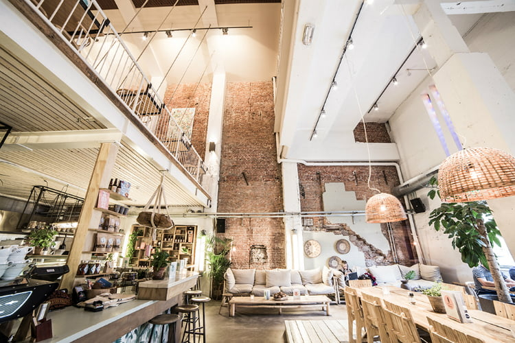 Coffee and Coconuts - coolest cafes in Amsterdam