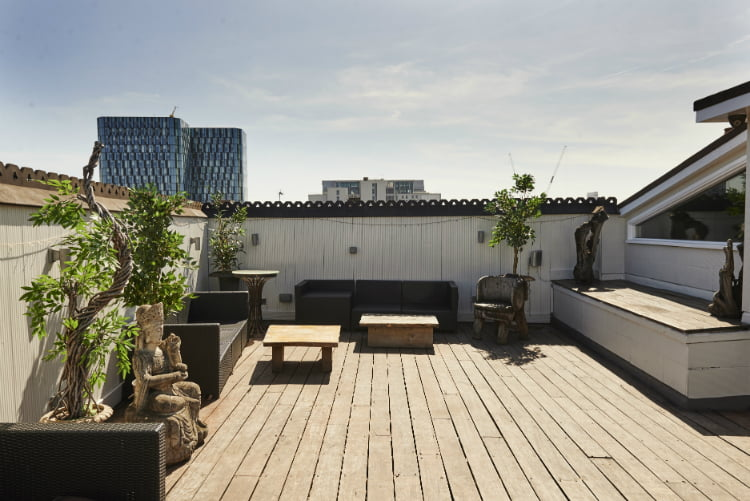 Driver - rooftop bars in London