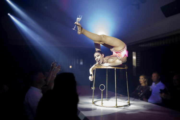 Circus - London date ideas