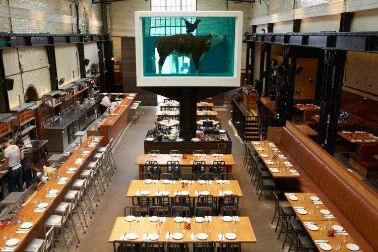Tramshed - best restaurants in Shoreditch