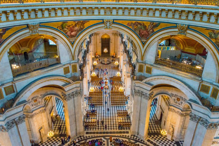 St Pauls Cathedral - 100 London Date Ideas