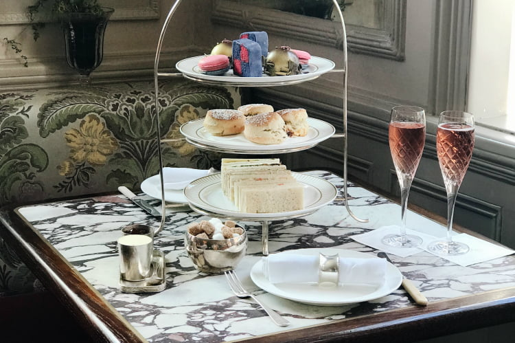 Afternoon tea London - Kettners Townhouse