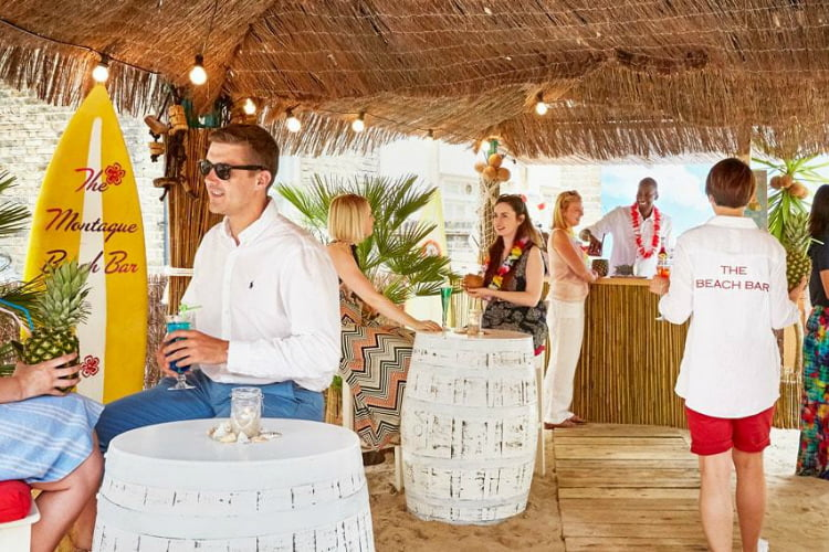 Beach Bar - things to do in a London heatwave