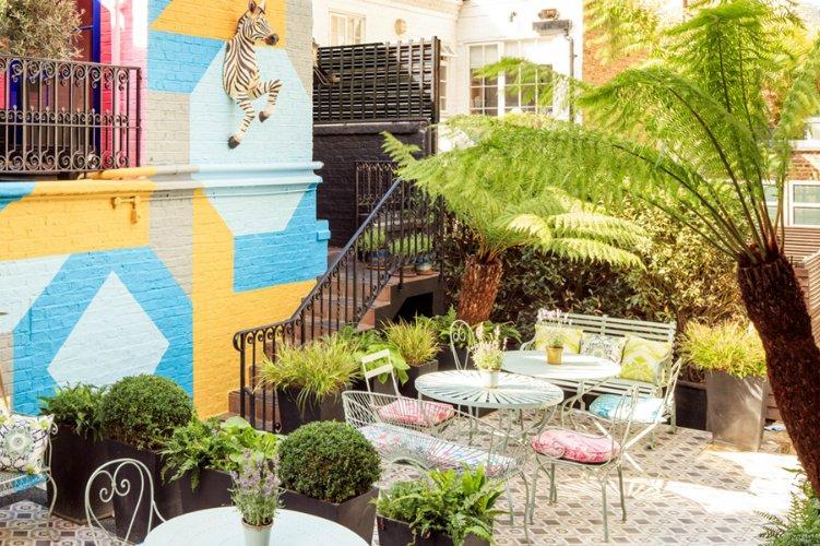 Blakes Terrace - afternoon tea London