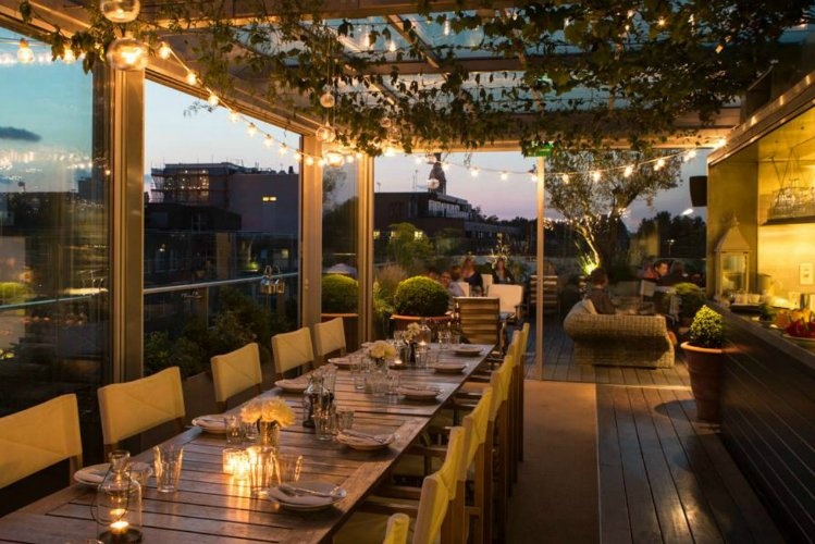 Boundary - rooftop bars in London