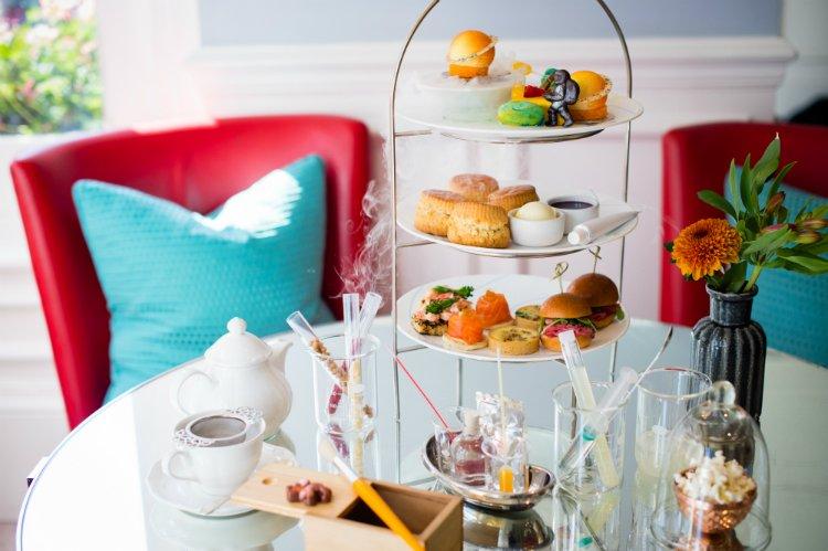 Ampersand Hotel - science afternoon tea London